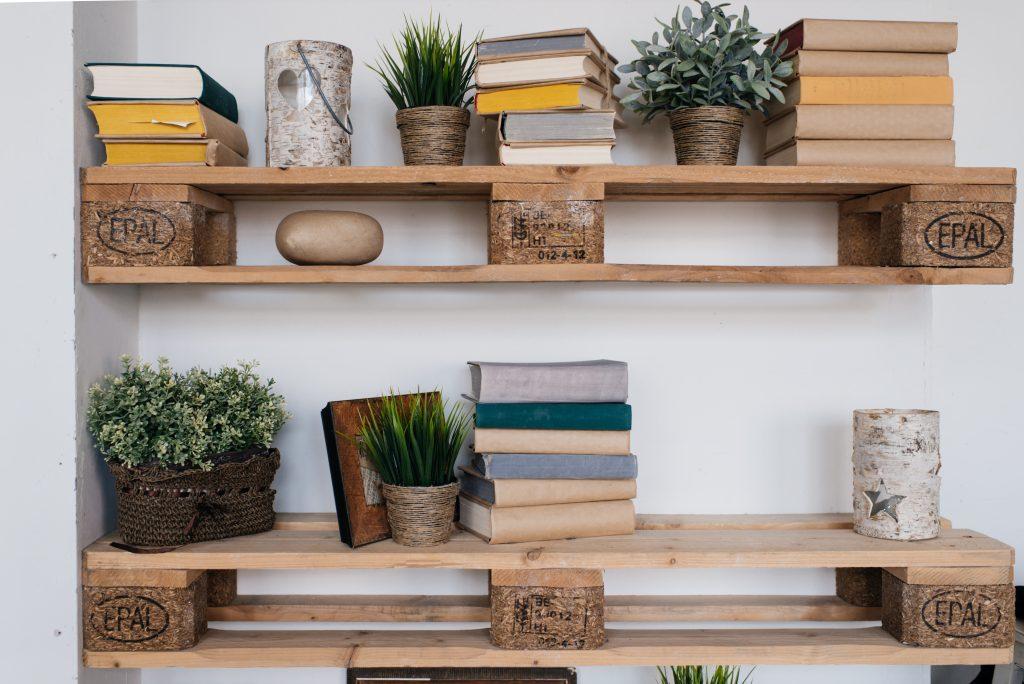 Shelf from pallet