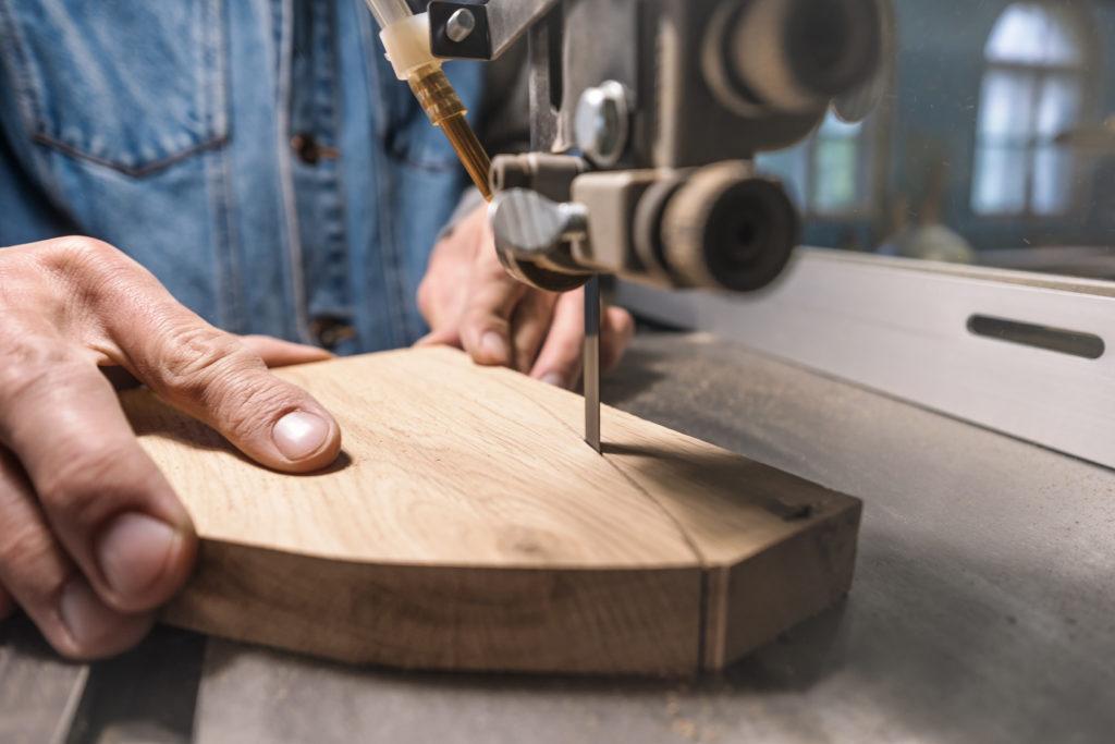 young man carpenter