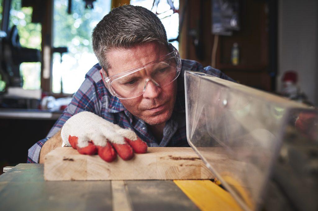 a man making