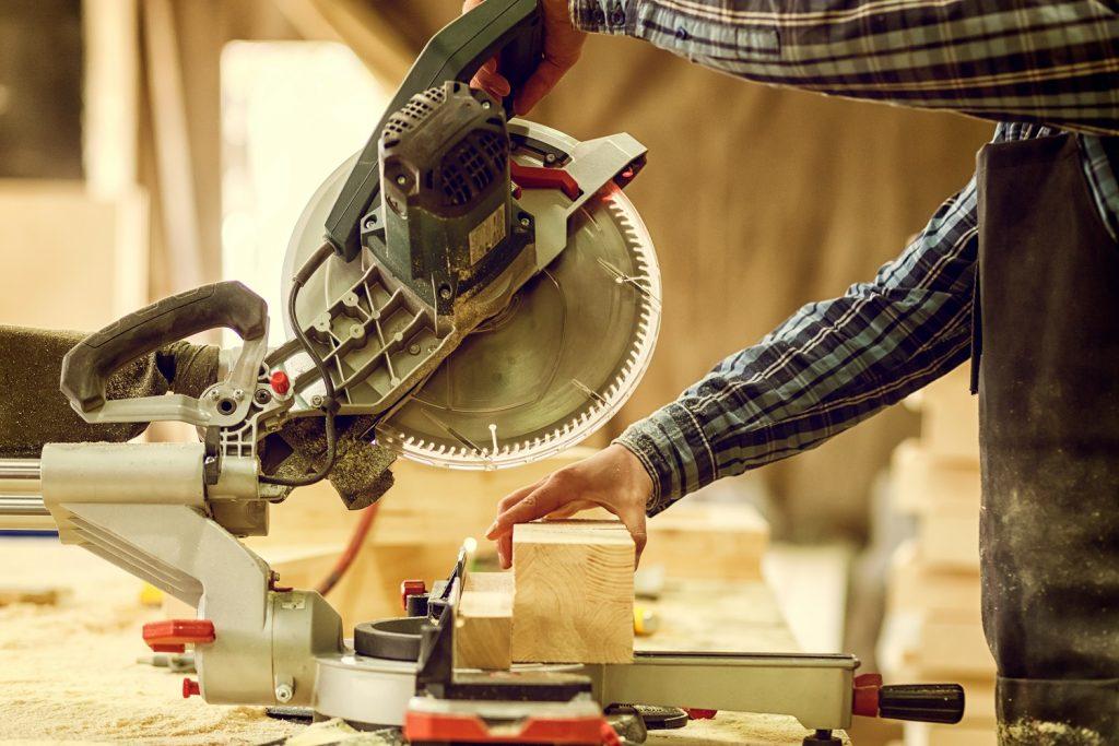 Carpenter in work
